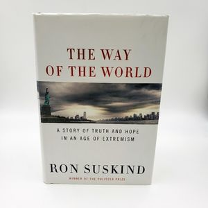 2/$10 The Way of the World Hardcover Book Suskind